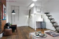 Дизайн интерьера. Квартира студия для молодого человека