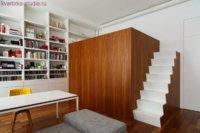 Еще один интересный вариант для маленькой квартирки