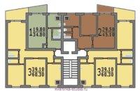Панельная планировка «1-515»