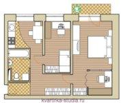 Жилье в кирпичных домах, серии «1-511» и «1-447»