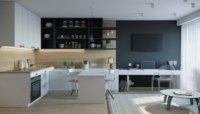 Как сделать дизайн-проект квартиры студии 25 кв.м
