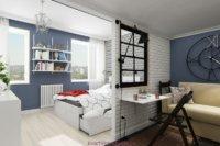 Дизайн квартиры маленькой планировки
