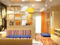 Как перегородить квартиру студию при помощи мебели