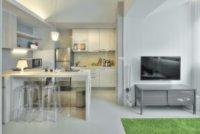 Красивая организация кухонной зоны