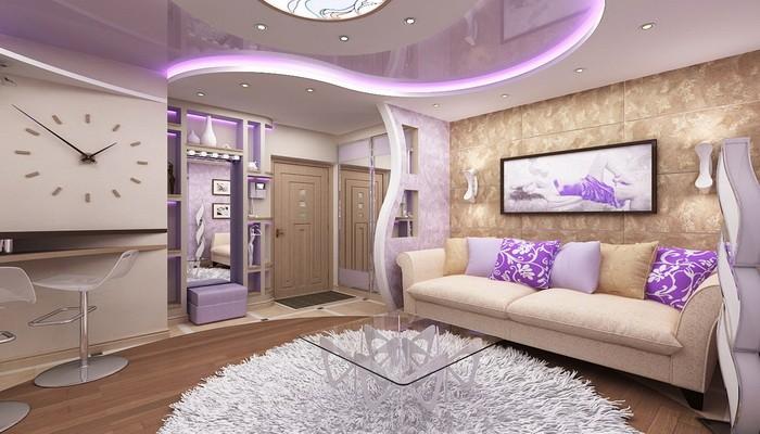 Квартира студия 47 кв.м: превращаем свою хрущевку в комфортную квартиру