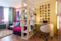 Мебель подобрана аккуратно и функционально
