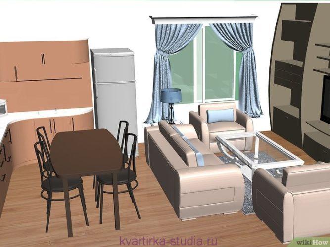Мебель для маленького жилья