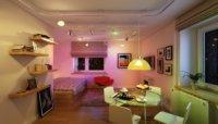 Выполняем дизайн однокомнатной квартиры