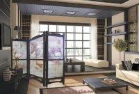 Перегородка в квартире студии в виде ширмы