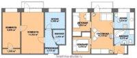 Если правильно спланировать пространство, можно организовать и 3-ю комнату