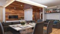 Дизайн однокомнатной квартиры студии 30 кв.м – современный ремонт!