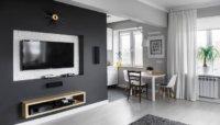 Квартира студия 23 кв. м дизайн и обустройство помещения