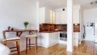 Как выполнить дизайн квартиры студии до 28 метров