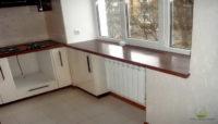 Что означает полноценный ремонт кухонной зоны в хрущевке