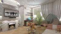 Влияние цветовой палитры и осветительных приборов на зонирование помещения