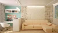 Однокомнатная квартира хрущевка: дизайн, непростое решение на маленьких квадратах