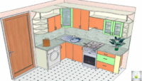 Кухня для хрущевки угловая – лучшее решение для маленьких помещений