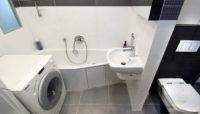 Оформление и дизайн ванны в хрущевке со стиральной машиной