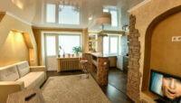 Увеличение пространства за счет потолочной конструкции