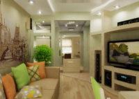 Дизайн квартиры (2 х комнатной хрущевки) для семьи с ребенком