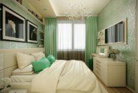 Оформление спальной зоны в квартире старой планировки