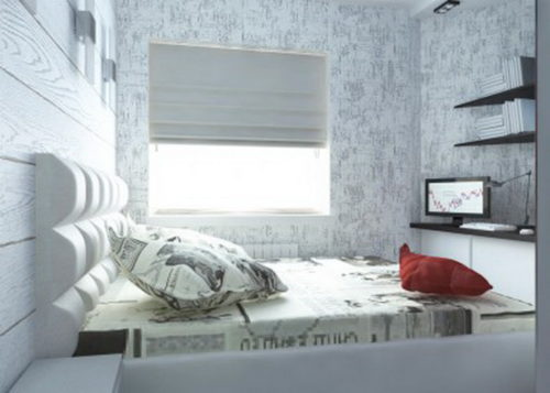 Оформление спальной зоны