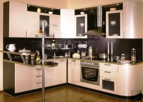 Простой и функциональный дизайн в кухне