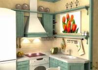 Дизайн маленькой кухни в хрущевке: планировка, оформление, мебель
