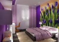 Дизайн спальня в хрущевке, одно из оптимальных решений меблировки