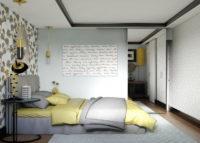 Современное исполнение спальной зоны