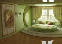 Зеленый цвет и натуральное декорирование